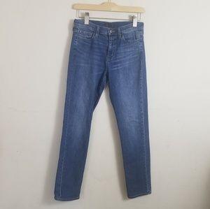 Uniqlo Skinny High Rise Jeans